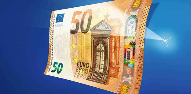 Le Nouveau Billet De 50 Euros Entrera En Circulation En Avril 2017
