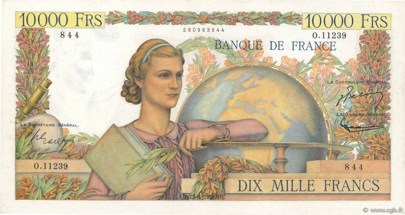 187 Billets Banque De France En Ligne