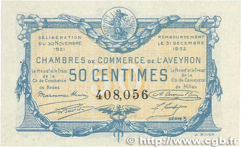 Veille numismatique blog archive 100 billets des chambres de commerce en ligne veille numismatique - Chambre de commerce rennes ...