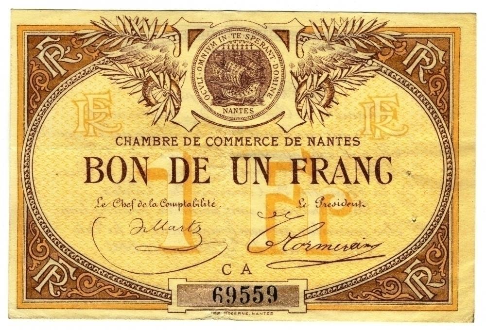 Sonantes une nouvelle monnaie for Chambre de commerce nantes