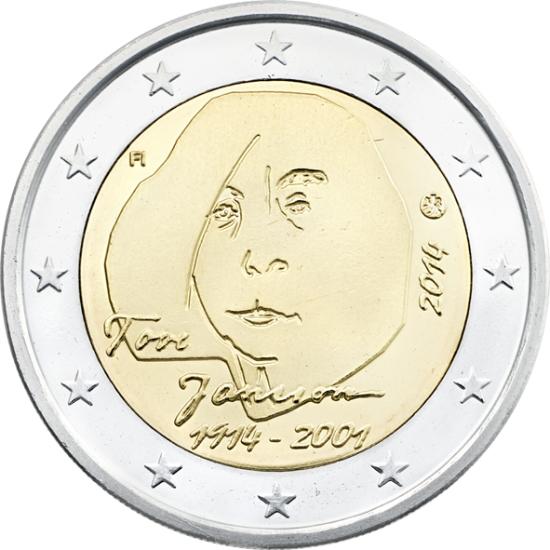 2 Euros commémoratives 2014